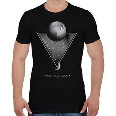 FÖLD - CSILLAG - HOLD - Egyedi mintás póló! WEBSHOP: http://printfashion.hu/mintak/reszletek/fold-csillag-hold/ferfi-polo
