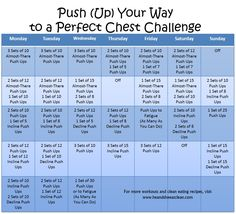 30 day push up challenge for men | Monthly Challenge :: Push (Up) Your Way to a Perfect Chest