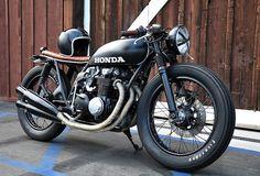 Honda CB550 Motorbike Honda CB550 by Seaweed & Gravel