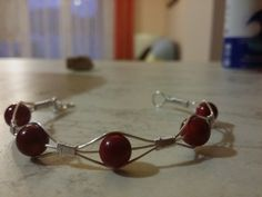Handmade coral bracelet by MagicStoneHungary on Etsy