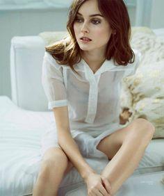 Model Jac Jagaciak poses in Celine look
