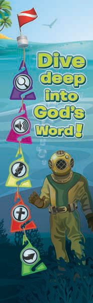 Deep Sea Discovery - Bookmarks (Pack of 25) Deep Sea Discovery VBS 2016