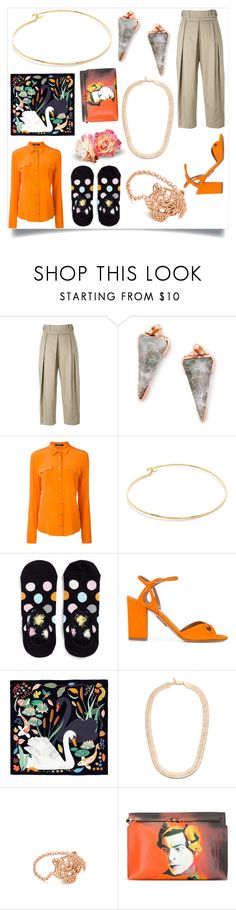 """Decide what you are"" by emmamegan-5678 ❤ liked on Polyvore featuring Alexander Wang, Kendra Scott, Balmain, Cloverpost, Happy Socks, Aquazzura, Karen Mabon, Vanessa Mooney, Kenzo and Loewe"