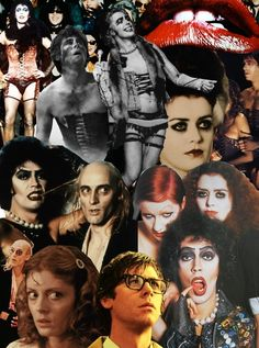 Rocky Horror Picture Show collage