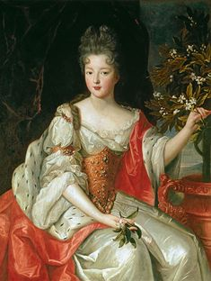 Louise Françoise de Bourbon, Légitimée de France (1 June 1673 – 16 June 1743) was the eldest surviving legitimised daughter of Louis XIV of France and his maîtresse-en-titre, Madame de Montespan.