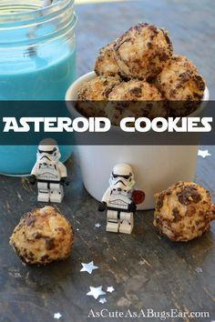 Star Wars Asteroid Cookies   As Cute as a Bug's Ear