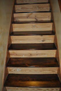 New Finish Basement Steps