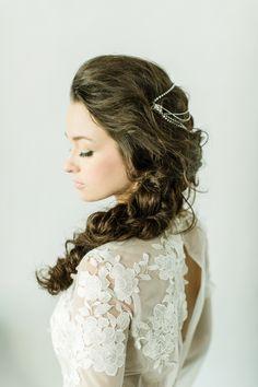 Hair + Makeup: TEAM Hair and Makeup - http://www.teamhairandmakeupservice.com Wedding Dress: Elizabeth Fillmore - http://elizabethfillmorebridal.com/ Wedding Dress: Reem Acra - http://www.reemacra.com/   Read More on SMP: http://www.stylemepretty.com/2016/12/18/bridal-beauty-2017-get-the-look-team-hair-makeup/