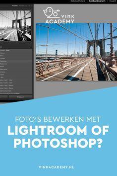 Adobe Photoshop of Lightroom? Adobe Photoshop, Lightroom, Photoshop Design, Photoshop Tutorial, Photoshop Actions, Photography Jobs, Photoshop Photography, Photography Tutorials, Digital Photography