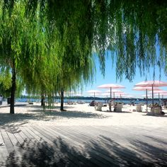 The quiet little boardwalk by Sugar #Beach in #Toronto had to have almost $400,000 of sand imported from #Cuba!