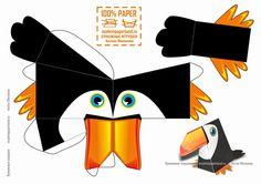 Made in Paperland: Тукан из бумаги