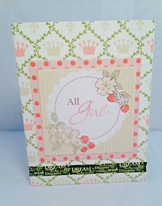 All Girl by JBRCards on Etsy