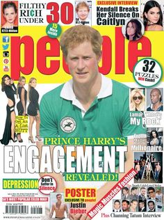 People Magazine is your hottest weekly fix of celebrity news from South Africa, Hollywood and cyberspace. Celebrity News, Celebrity Gossip, Filthy Rich, My Rock, People Magazine, Celebs, Celebrities, Prince Harry, Real People