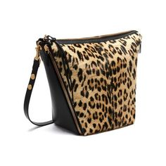 Mulberry - Camden in Natural Leopard Haircalf