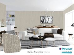 Patrones #Tendencias2017 Marble Travertino Blanco