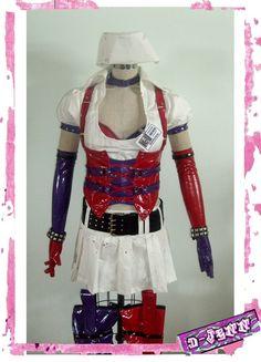 Harley Quinn Arkham Asylum Costume Cosplay by shoshanna2003, $500.00
