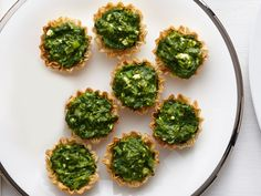 Spanakopita Tartlets (No. 23) : Warm one 10-ounce package thawed ...
