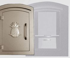 Manchester with security option, Decorative Pineapple, Bronze