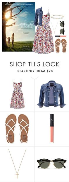 """Miracles From Heaven"" by polygirl06 ❤ liked on Polyvore featuring maurices, Billabong, NARS Cosmetics, Gucci, Ray-Ban and Robert Rose"