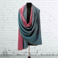 fc77304ba4846 Buy Online Checked Olive and Purple Reversible Pashmina Shawl at Best Prices  from Kashmir Box