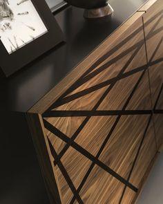 Wooden sideboard WEBBER By Cattelan Italia design Andrea Lucatello