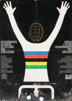 1982 World Cycling Championship poster