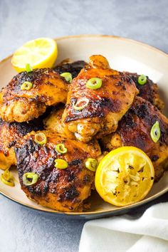Cajun Chicken Thighs - Coco and Ash