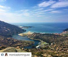 Preciosas las vistas desde el mirador del #Ezaro  y muy bonita la foto de @monicadominguez  #SienteGalicia ➡ Descubre más en http://www.sientegalicia.com/