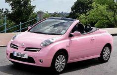 Glamorous pink Nissan Micra (Barbie)