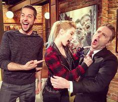 "Zac Levi, Alexandra Breckenridge & Chris Hardwick, After Season 6 ""Now"" . Nerdist Industries"