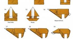 Origami Guide – How To Make A Bear