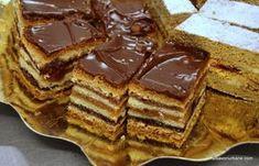 prajitura jerbo greta garbo reteta veche savori urbane (1) Romanian Desserts, Cake Recipes, Dessert Recipes, Food Cakes, New Years Eve Party, Waffles, Gem, Sweet Treats, Bakery