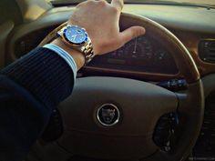#Rolex X #Jaguar !