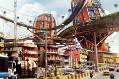 Shanty Mega-Structures | Lekan Jeyifo These images juxtapose sites of privileged and much coveted real-estate throughout Lagos, Nigeria with colossal vertical settlements, representing marginalized and impoverished communities. The images consider...