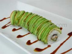 Dragon Roll Recipe.  My skills are dusty....  http://www.sushiencyclopedia.com/sushi_roll_recipes/dragon_roll_recipe.html