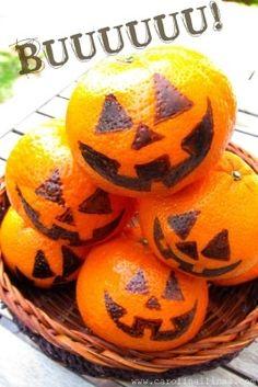 Nutritivas meriendas para compartir en Halloween | Blog de BabyCenter