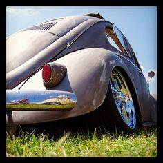 VW Cox. European Bug-in Chimay, Belgium