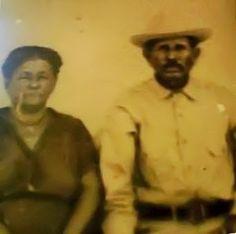 Photo Of Pedro Marroquin Perez and Maria Amalia Gonzalez Guerra Circa 1950