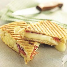 Kid-Friendly Finger Food: Prosciutto and Taleggio Panini