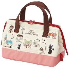 Kiki Delivery Service Pouch Type Cold Insulation Lunch Bag Bento... ($13) ❤ liked on Polyvore featuring home, kitchen & dining, food storage containers, bento lunch bags, thermo cooler, thermal lunch bags and thermal cooler