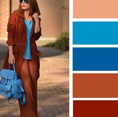 Color-Block Fashion by Alena Gordon Colour Combinations Fashion, Colour Blocking Fashion, Color Combinations For Clothes, Fashion Colours, Colorful Fashion, Color Combos, Color Blocking, Color Schemes, Mode Hippie