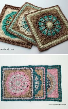 Crochet Tutorial - such a gorgeous, intricate square!