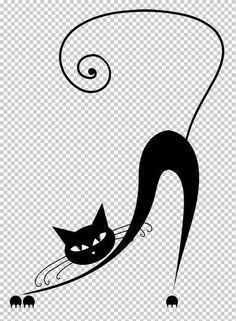 Plantillas de gatos para decoración | Solountip.com