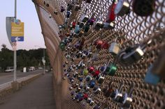 Love Locks in Schenley