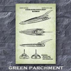 Batboat Patent Print Batman Batboat Poster Batman Poster | Etsy Batman Poster, Batman Art, Technical Artist, Guitar Posters, Guitar Gifts, Patent Drawing, Patent Prints, Unique Image, Line Art