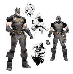 Nightwing, Batgirl, Catwoman, Batman Et Superman, Batman Armor, The New Batman, Batman Dark, Otto Schmidt, Superhero Characters