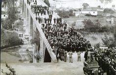 Inauguración Puente del Pasaje 1959