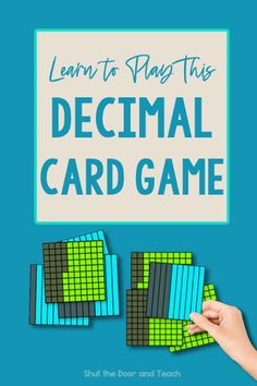 Learn more about teaching decimals. Get ideas for anchor charts and games. Click to read on Shut the Door and Teach. #math #upperelementary $ Teaching Decimals, Math Fractions, Upper Elementary Resources, Elementary Math, Fun Math Games, Math Activities, Fourth Grade Math, Common Core Math, Teacher Blogs