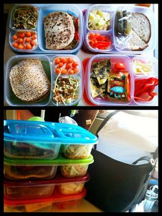 I need to buy a set of these. Packing lunches is one of my LEAST favorite things to do. I would like that these are bento box-esque w/o being separate containers (more lids & so forth to wash each night!) I LOVE the Yummy Lunch idea page too. Why coming up with lunches is so hard for me I do not know, but I'll be visiting this pages OFTEN!