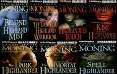 Highlander Series by Karen Marie Moning